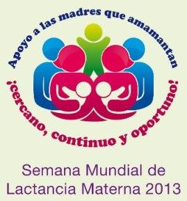 Semana mundial lactancia materna 2013
