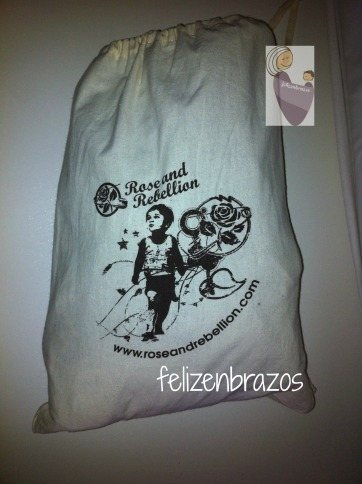 Bolsa de la mochila Rose and Rebellion