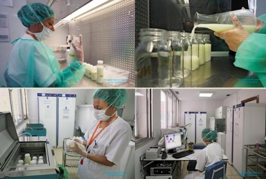 Banco de leche - Hospital 12 de Octubre
