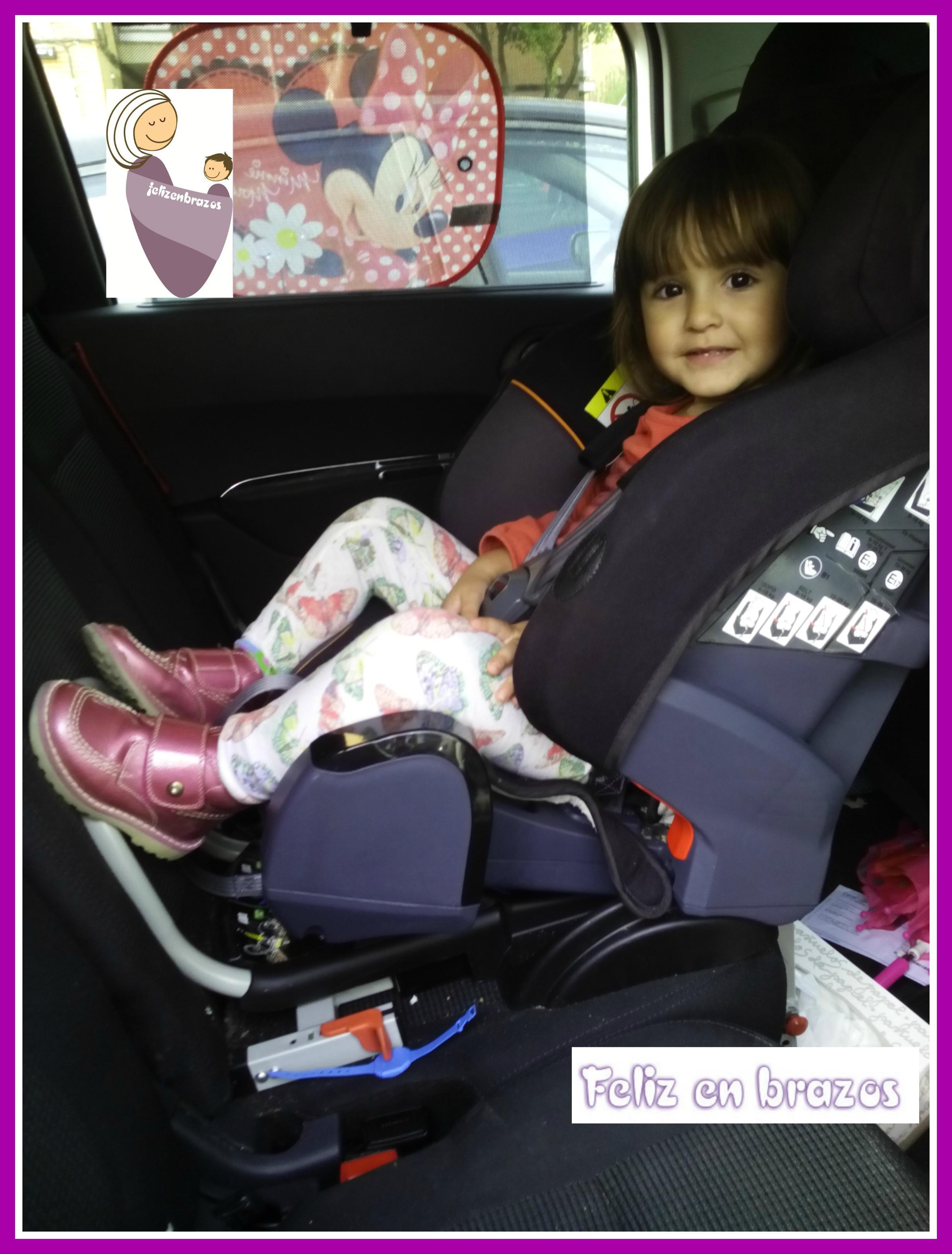 La seguridad viaja de espaldas tambi n en trayectos for Sillas de coche a contramarcha