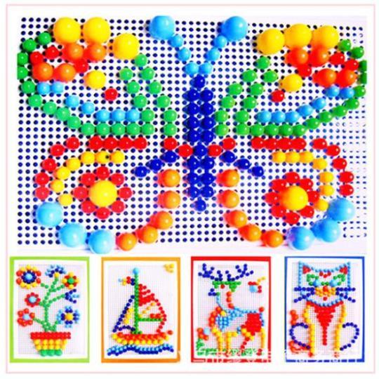 puzzle plástico