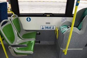 En Madrid ya hay autobuses que tienen SRI a contramarcha como este