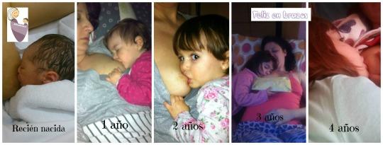 4 años de lactancia en imágenes