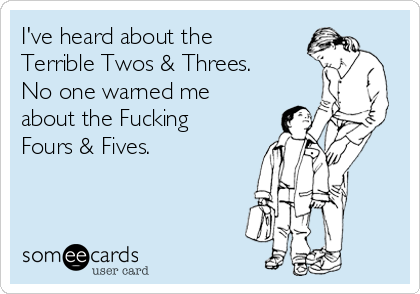 ive-heard-about-the-terrible-twos-threes-no-one-warned-me-about-the-fucking-fours-fives-4f59f